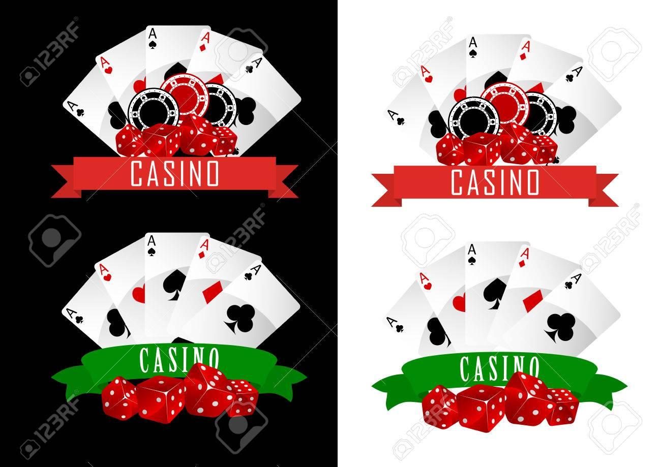 Ruban décoratif casino