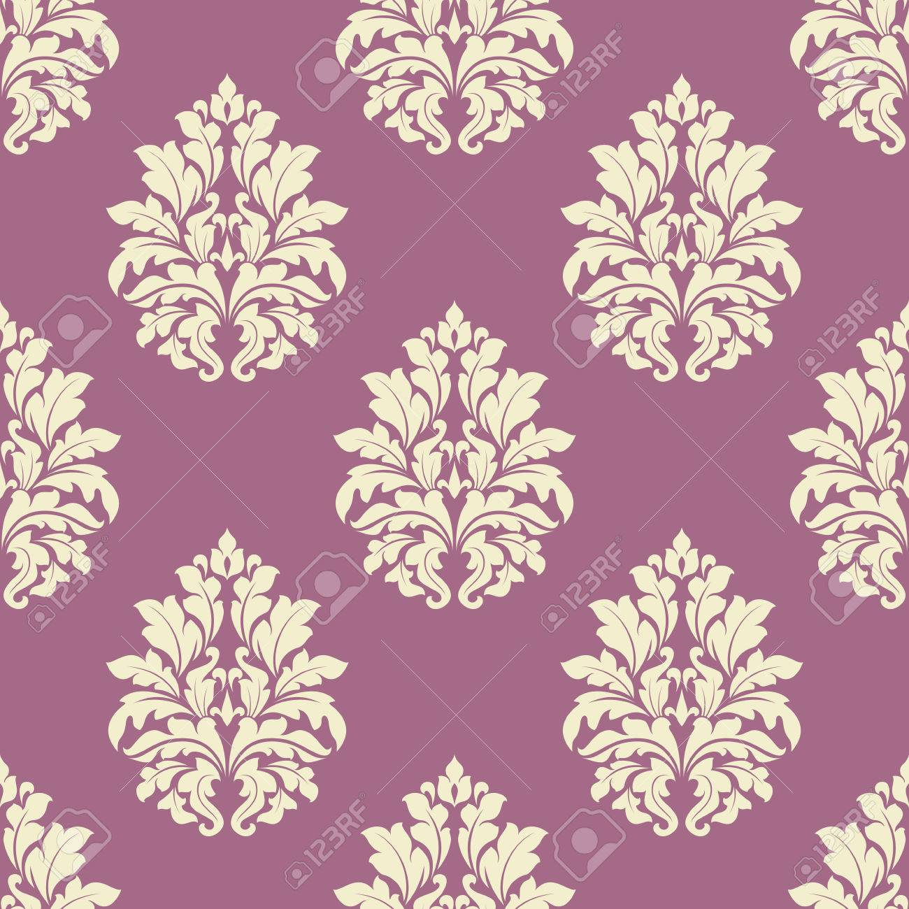 Floral seamless tracery of damask cream flowers with lush blooming floral seamless tracery of damask cream flowers with lush blooming on dusty pink background suited for mightylinksfo