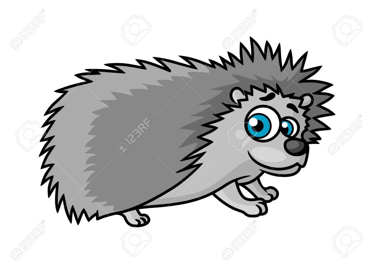 写真素材 , 灰色ソニックザヘッジホッグ キャラクター子ブック デザインのための白い背景で隔離の大きな青い目