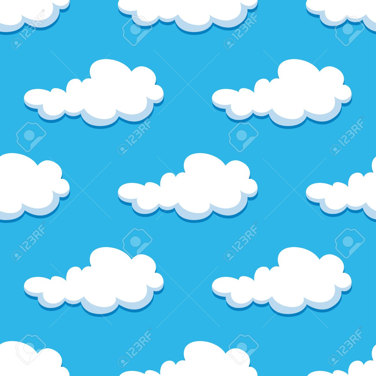 white curly clouds on blue summer sky seamless background in rh 123rf com skyvector fuel prices skyvector reviews