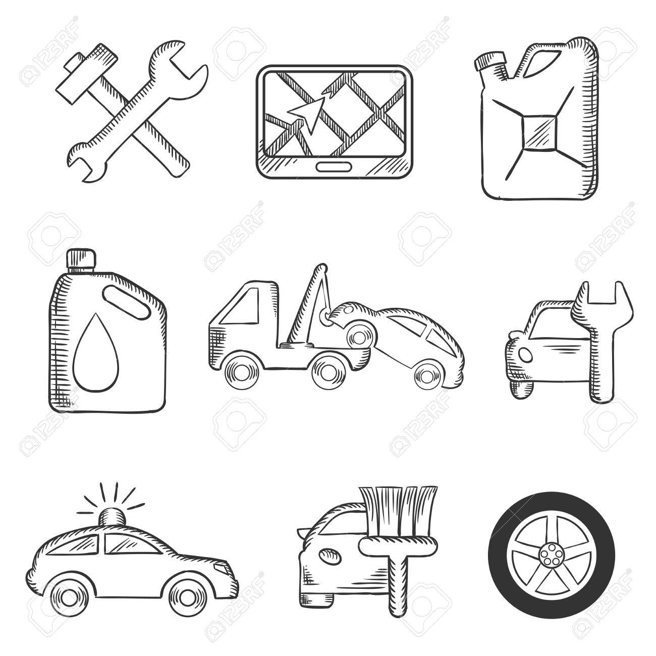 Niedlich Auto Skizziert Vorlagen Ideen - Beispiel Business ...