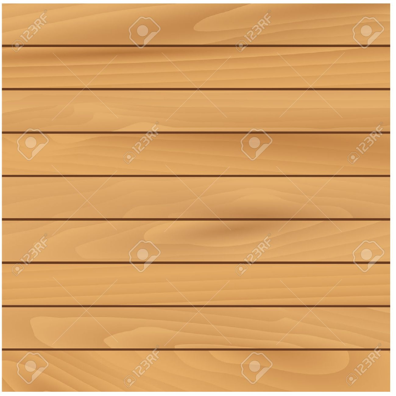 Light wooden texture natural background with narrow horizontal pine panels. For interior or construction design usage - 51156783