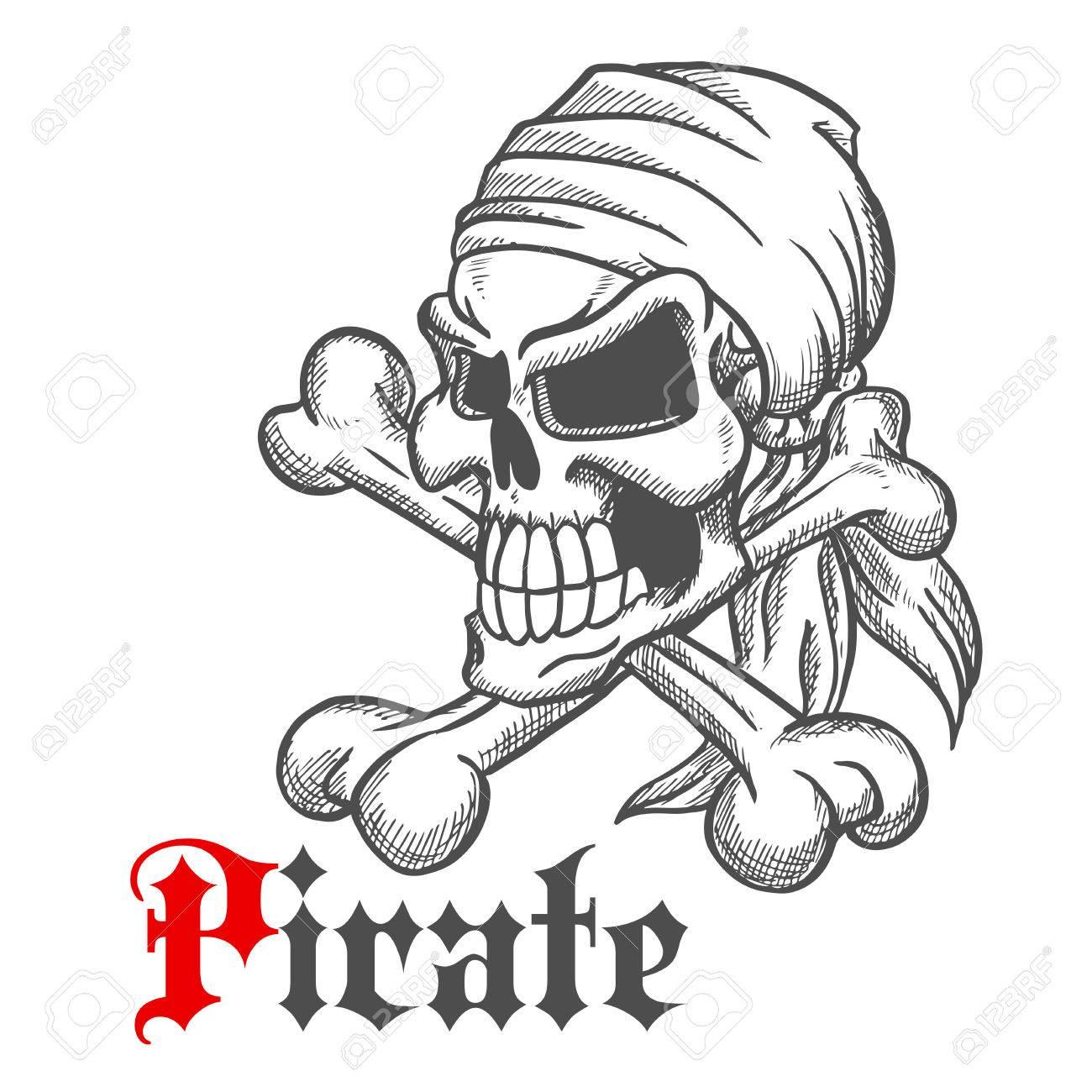 Spooky Ziemlich Roger Skizze Des Piratenschädels In Anna Mit ...