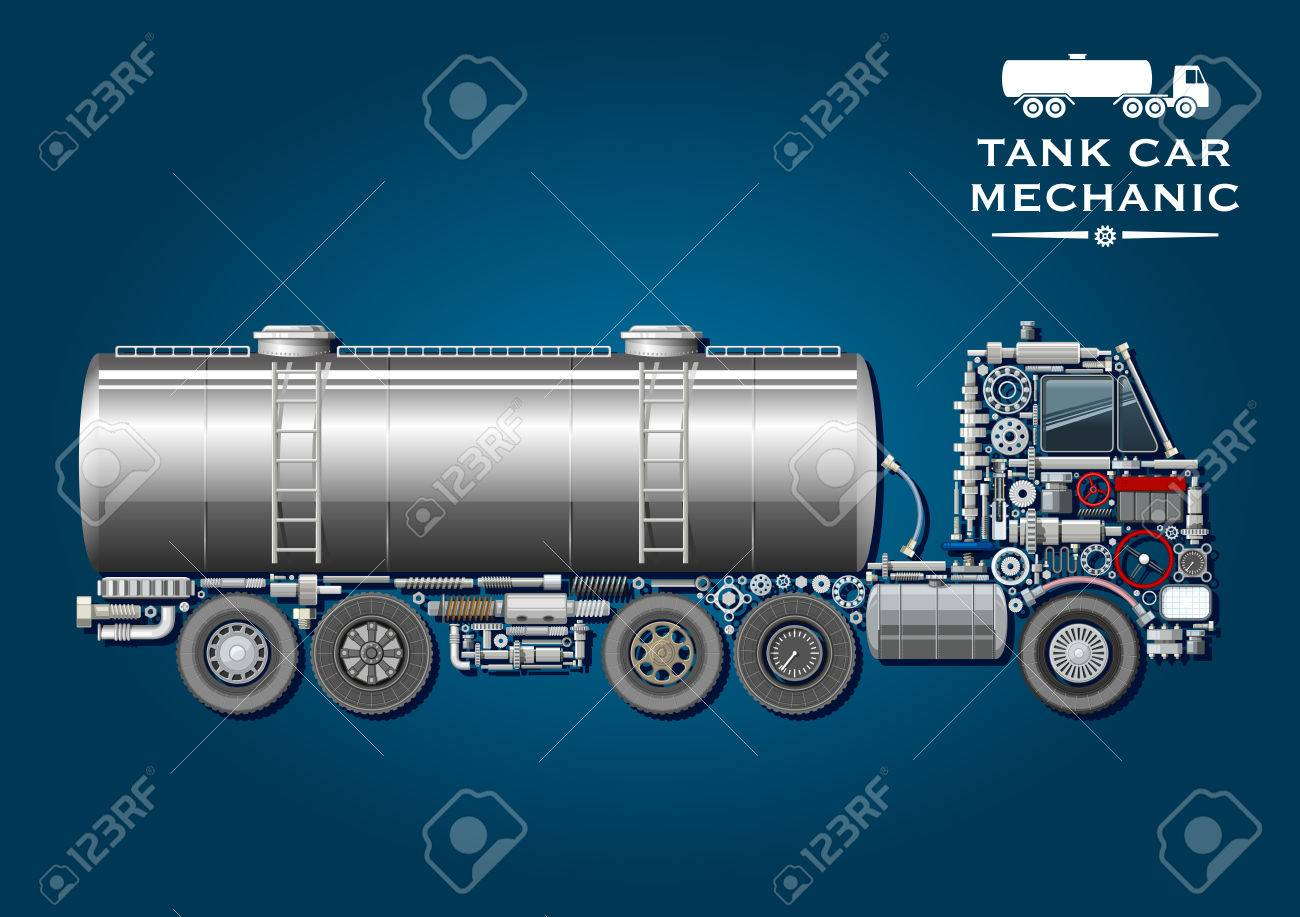 Modern tank truck symbol with fuel tanker provided with two ladder modern tank truck symbol with fuel tanker provided with two ladder and silhouette of truck tractor biocorpaavc