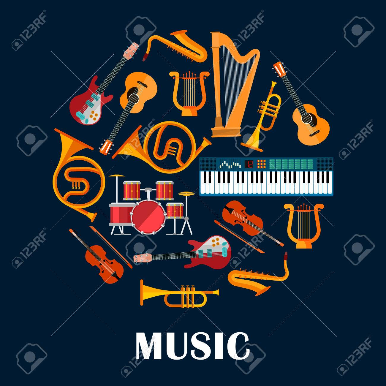 Music instruments or sound equipment  Electric and acoustic guitars,