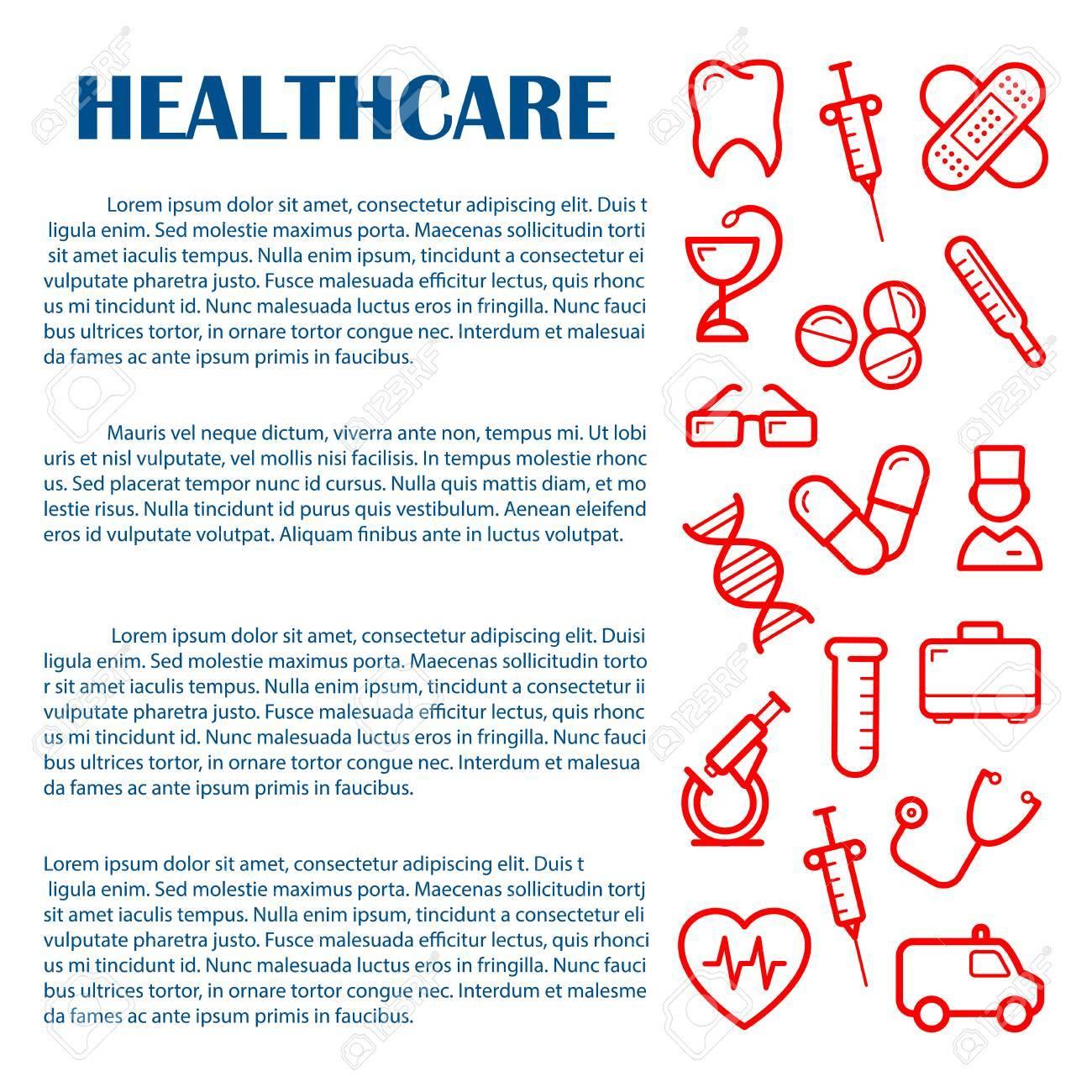 Allgemeinmedizin Banner-Design-Vorlage Für Medizin Und ...