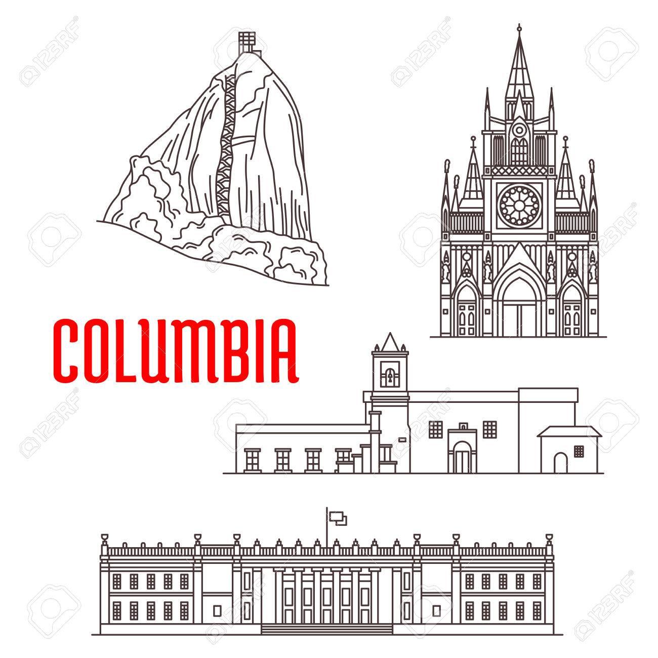 Colombia Piedra Del Peñol Roca Iglesia De La Iglesia De La Merced Santuario De Las Lajas Colombia Capitol Lugares De Interés Turístico Y La