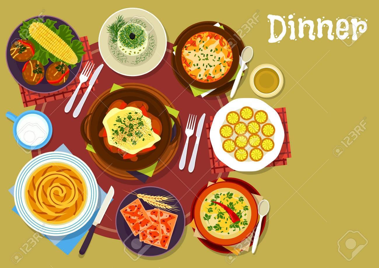 Bulgarische Küche | Bulgarische Kuche Abendessen Gerichte Ikone Des Schwein Pfeffer Pilz