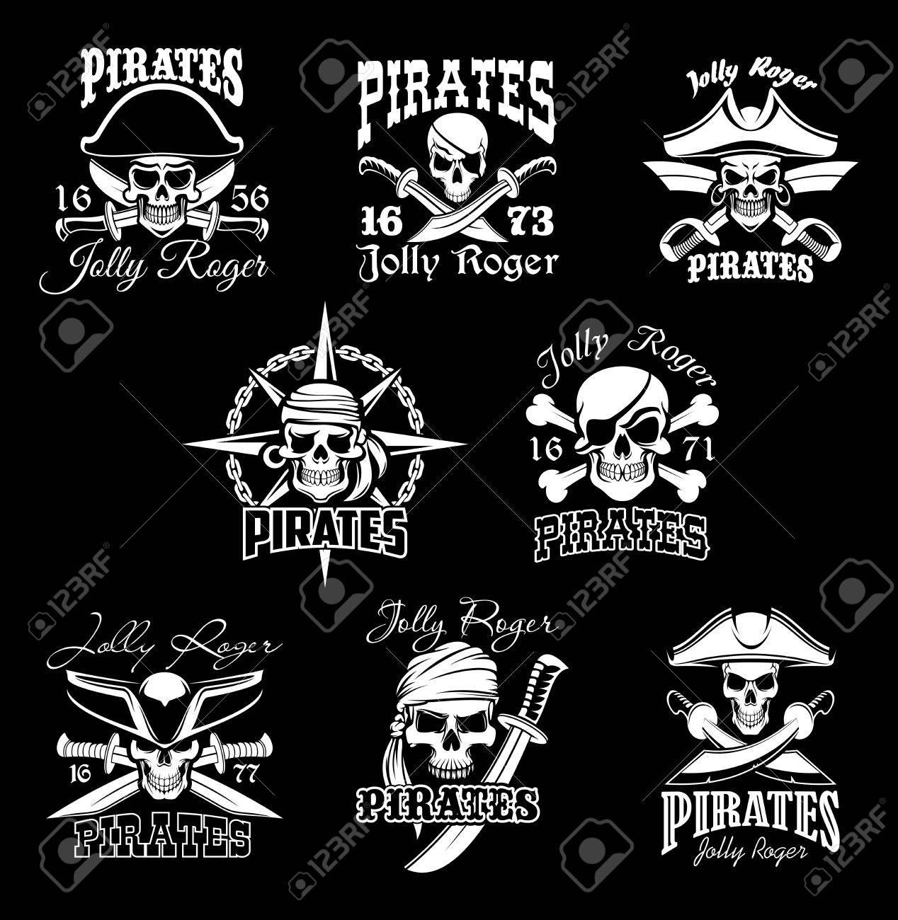 海賊スカル クロスボーンと海賊旗シンボルを設定します。海賊 ...