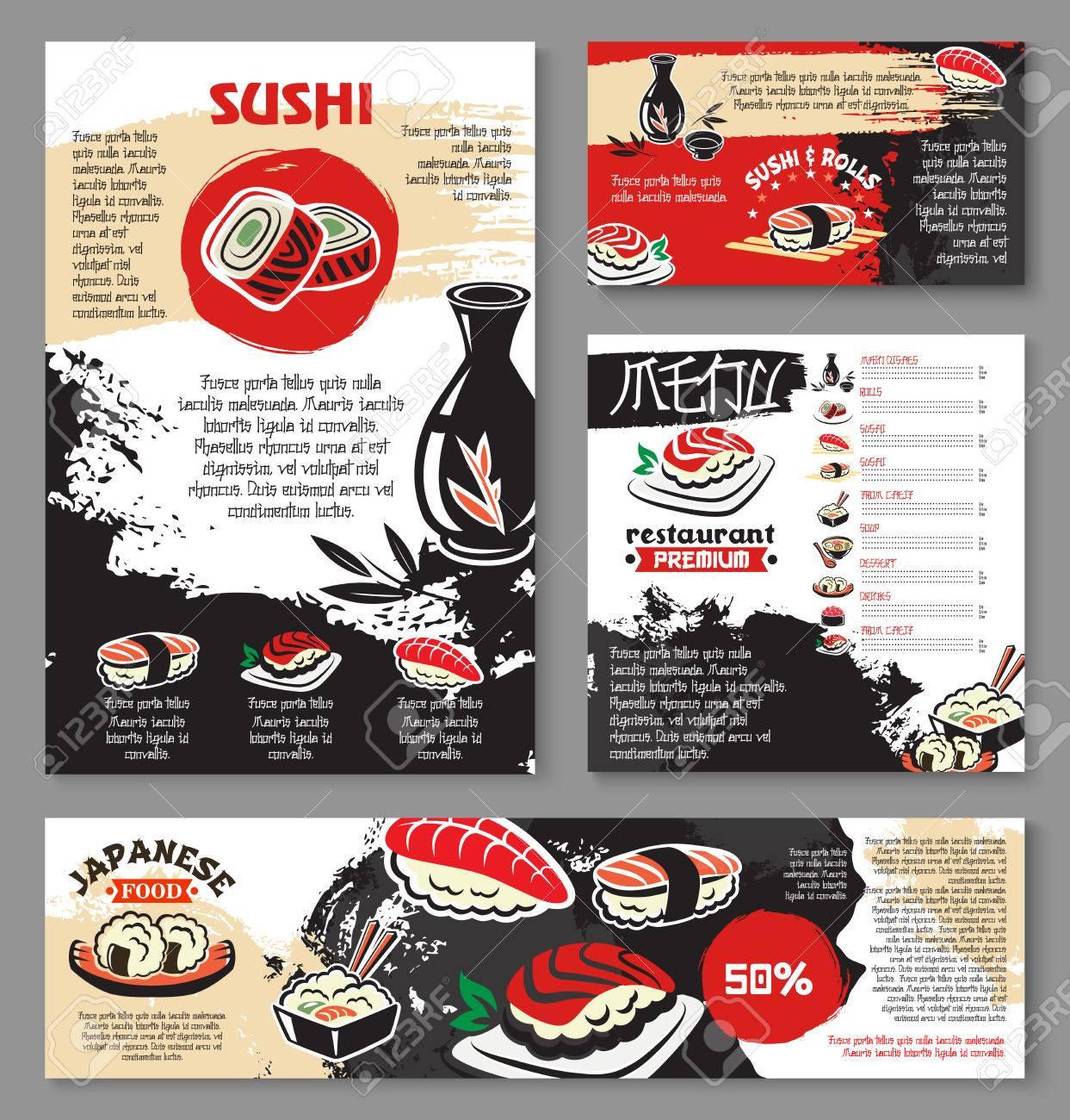 CECELIA: Asian menu design