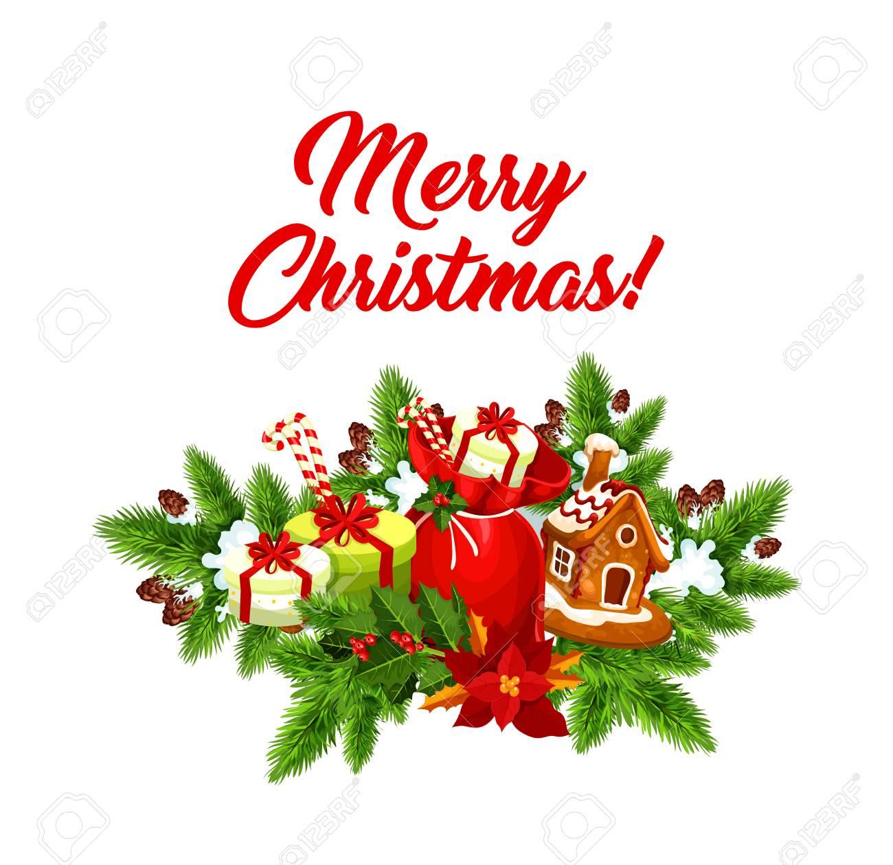 Weihnachtsfeier-Geschenke Vektor-Gruß-Symbol Lizenzfrei Nutzbare ...