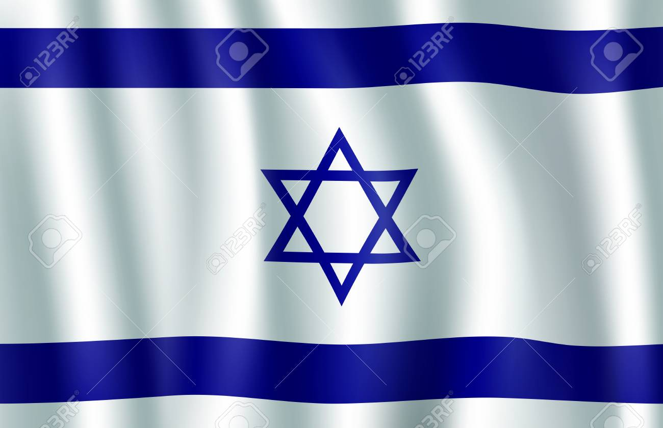 Israel flag 3d symbol with star of david national banner of israel flag 3d symbol with star of david national banner of state of israel with biocorpaavc Choice Image