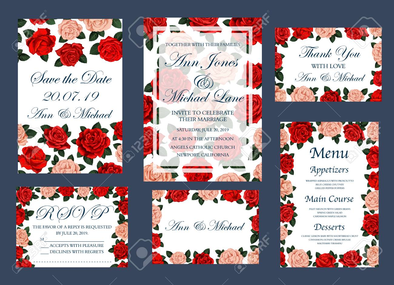 Save The Date Invitation Cards And Wedding Or Engagement Party ...