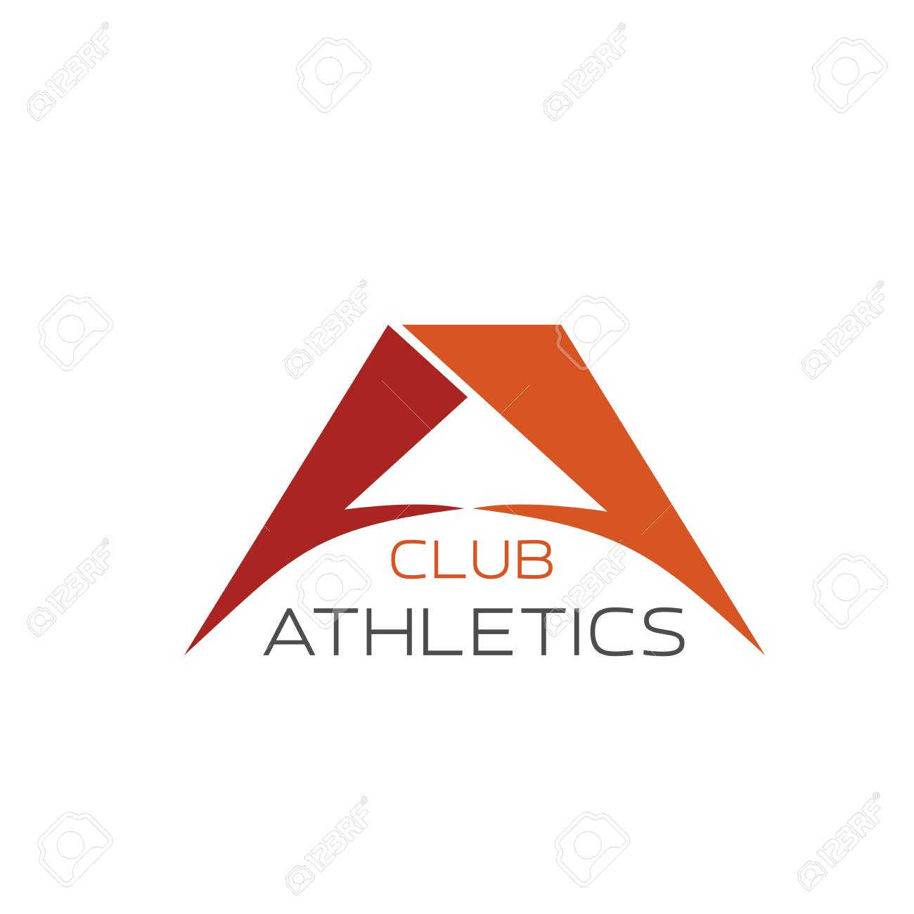 athletics club or gym a letter icon for sport or fitness center royalty free cliparts vectors and stock illustration image 114520554 123rf com
