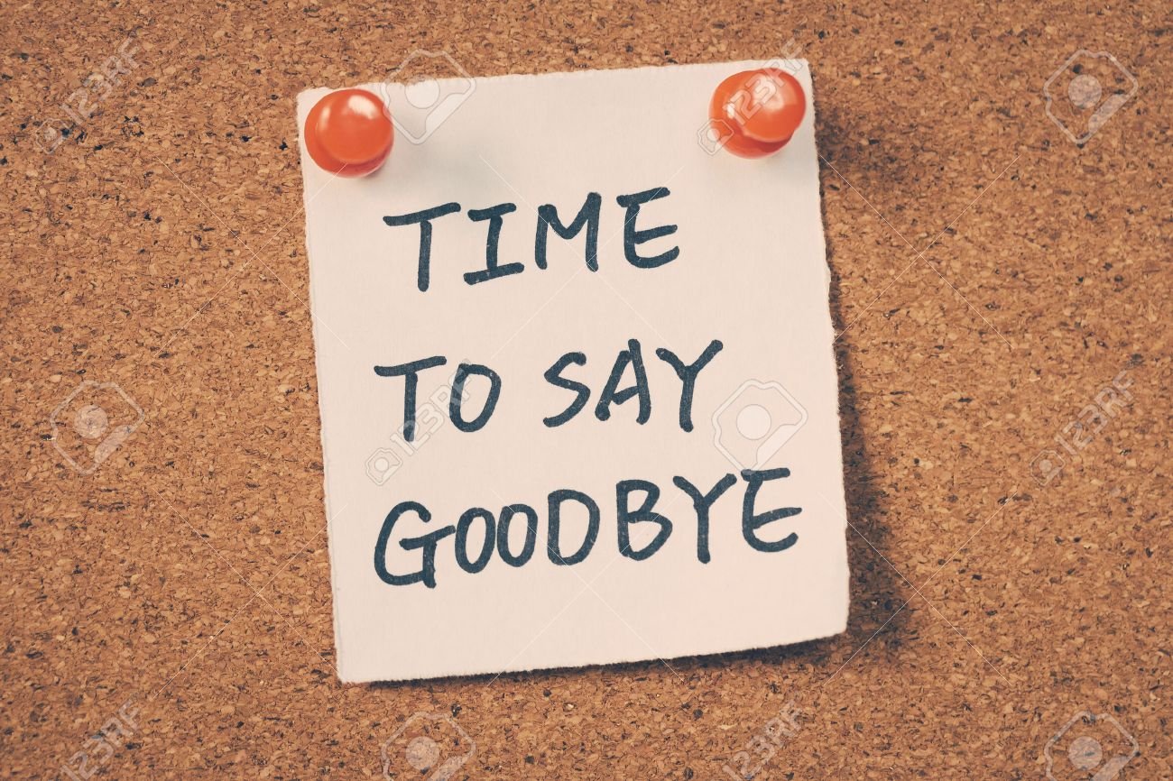 Time to say goodbye - 42589465