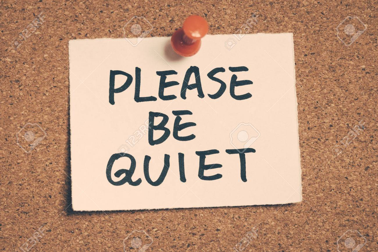 please be quiet stock photo picture and royalty free image image