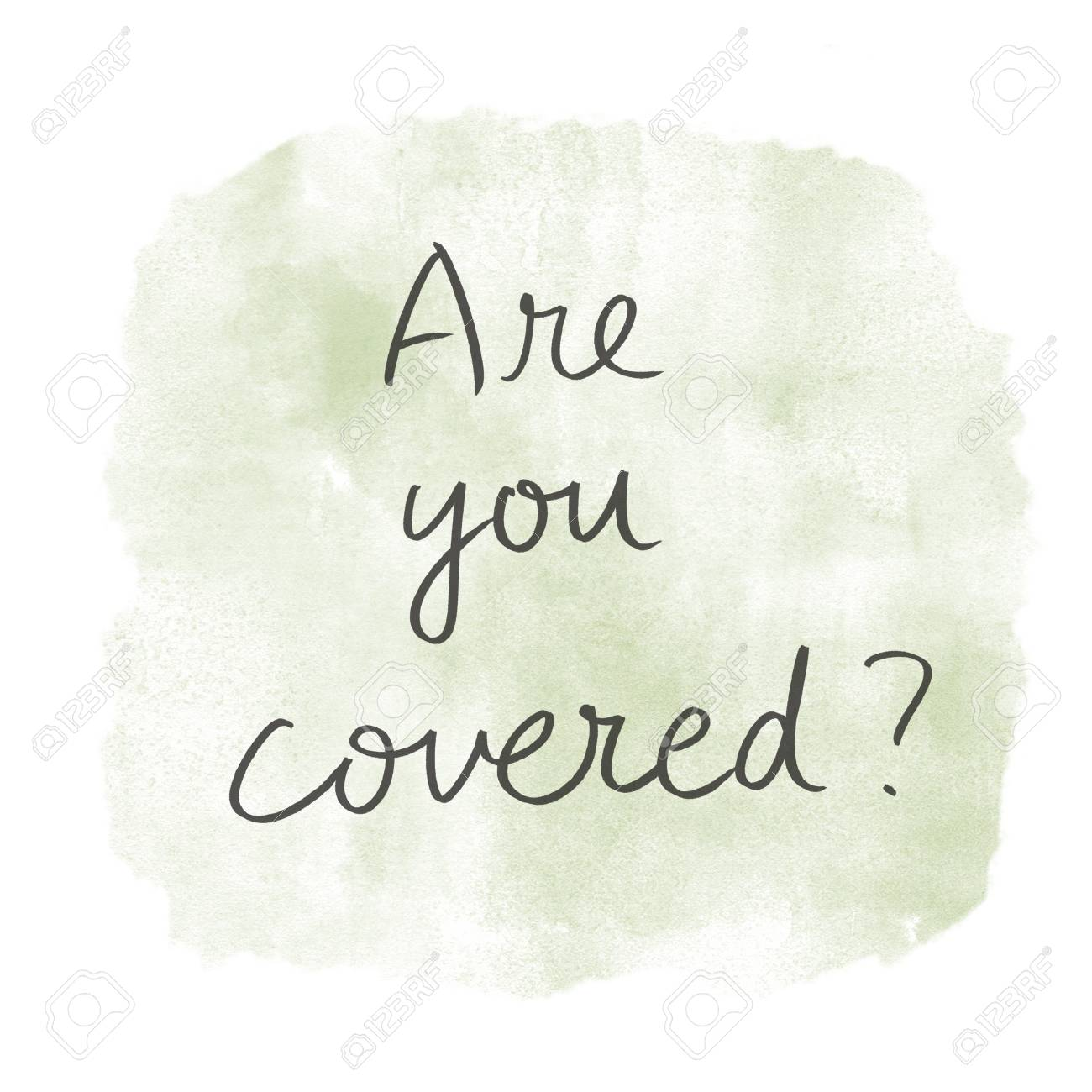 are you covered concept - 115235714