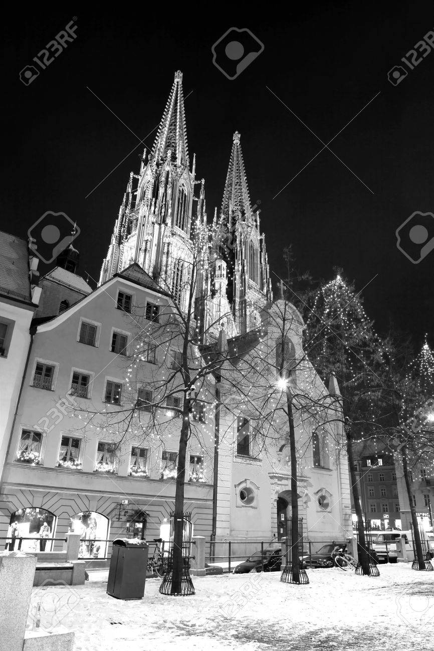 Cathedral in Regensburg Stock Photo - 350117