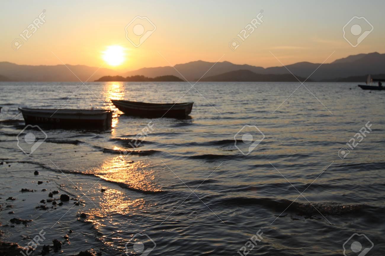 Sunset In beach Stock Photo - 11137593