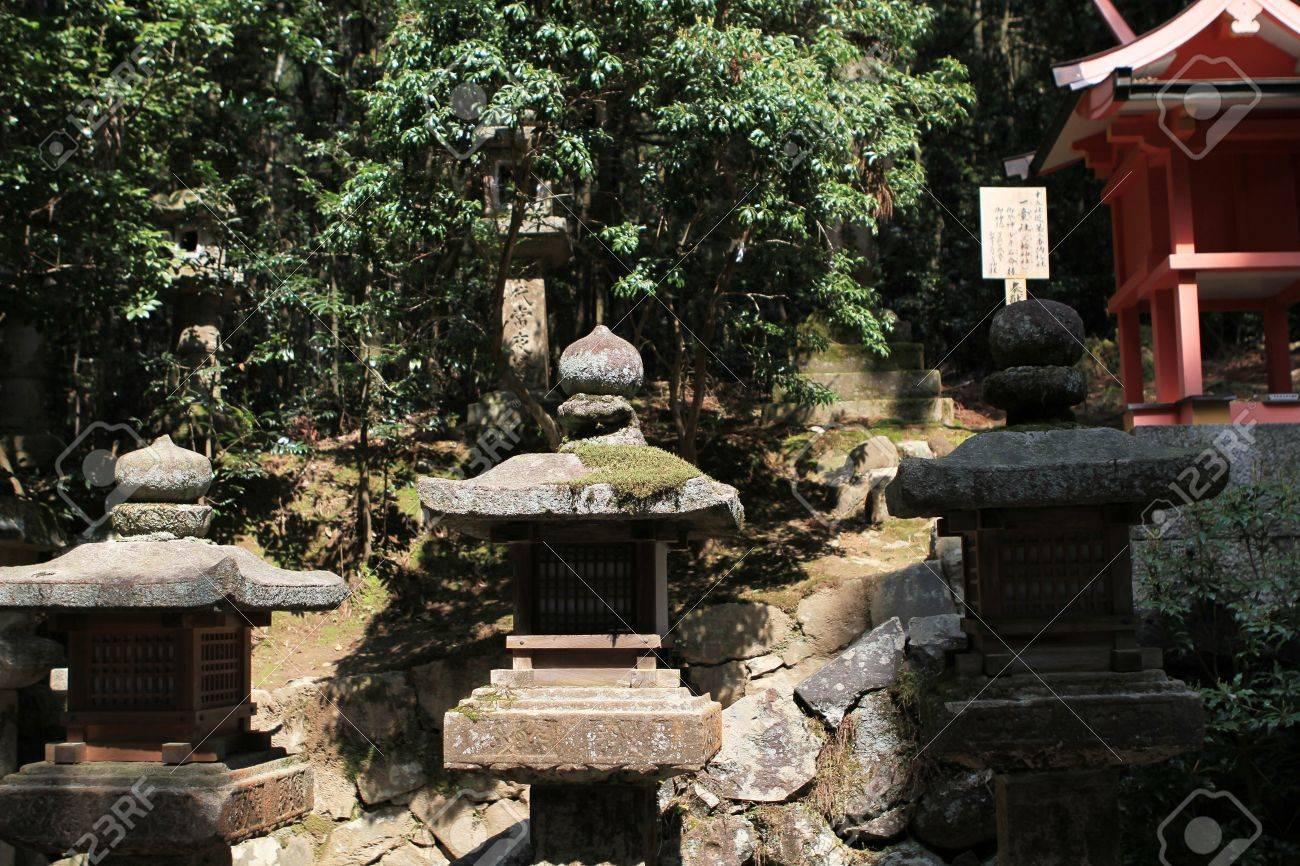 garden stone light Stock Photo - 17402929