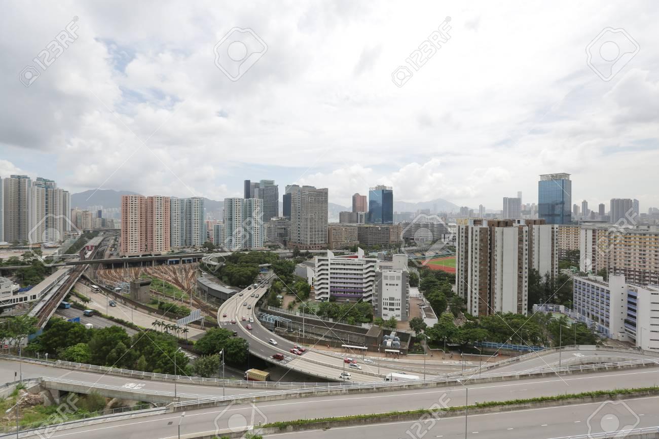 kowloon bay Stock Photo - 17069265