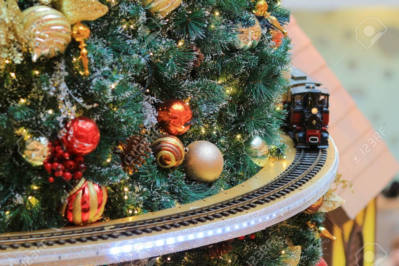 miniature model train set rural landscape - 37397262