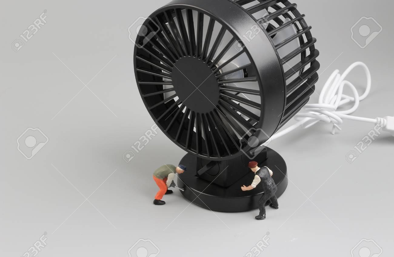 Circuito Ventilador : Los pequeños ingenieros que reparan el circuito del ventilador