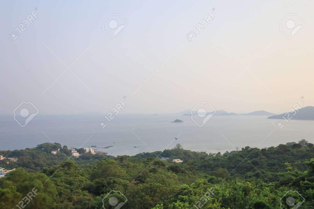 23 July 2021 the coast line of the Lantau South, hong kong - 172462109
