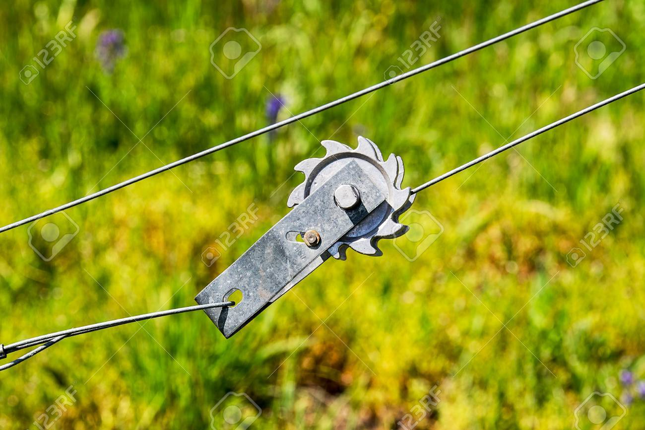 A Wire Tension Device Used To Increase The Tautness Of Wire Fences ...