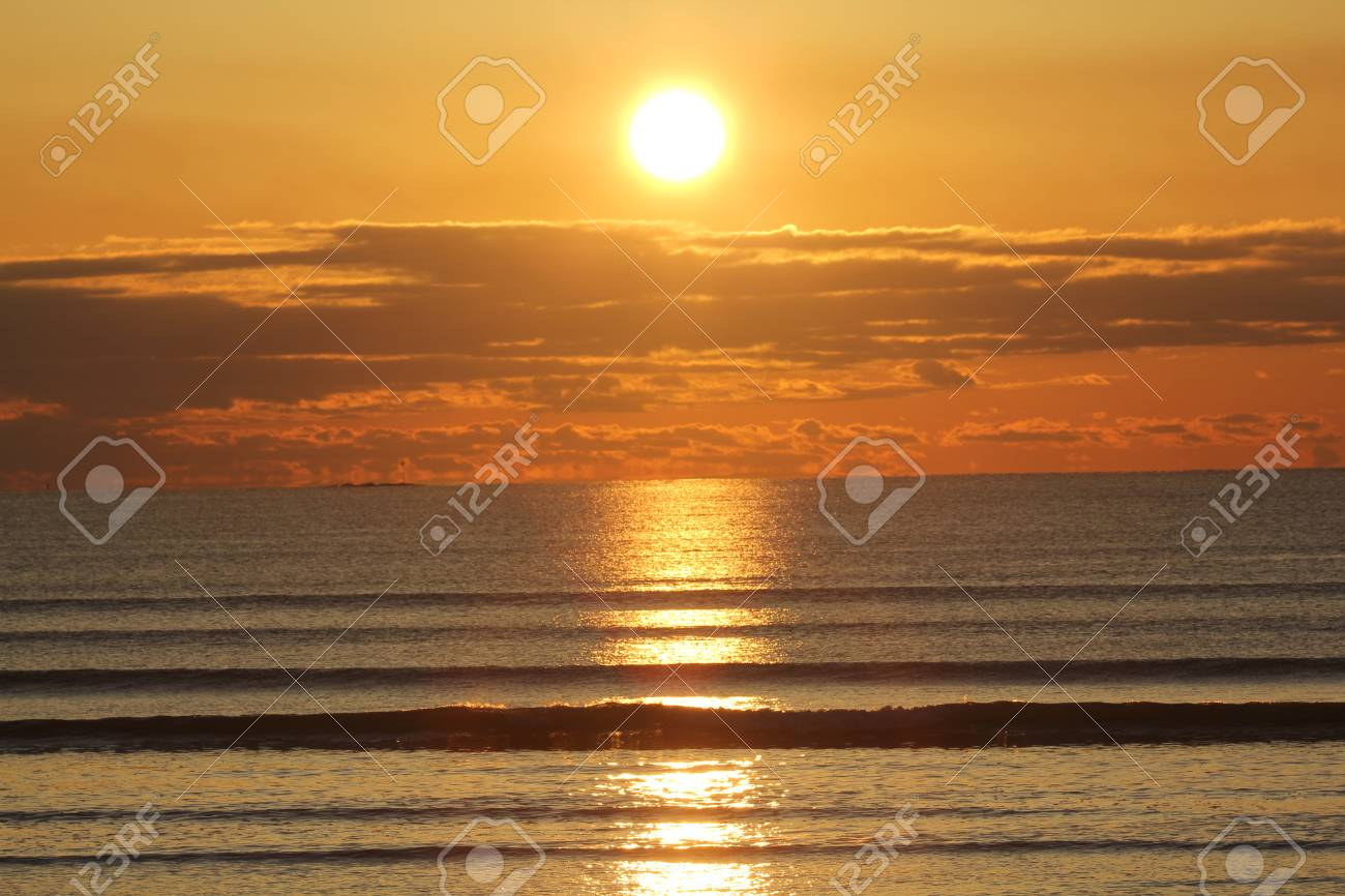 A beautiful Sunrise Over Lynn Beach - 19397966