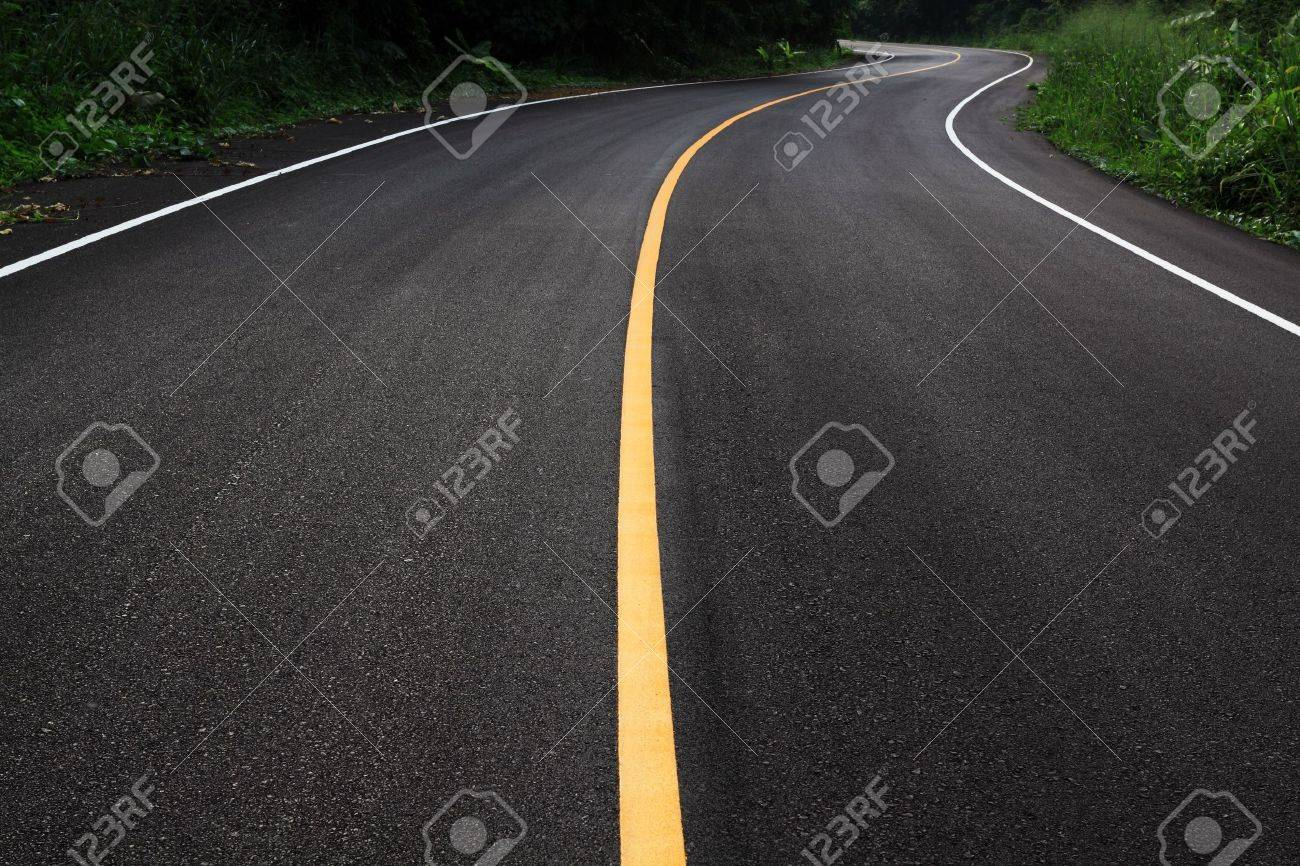 new curve road Stock Photo - 8302242