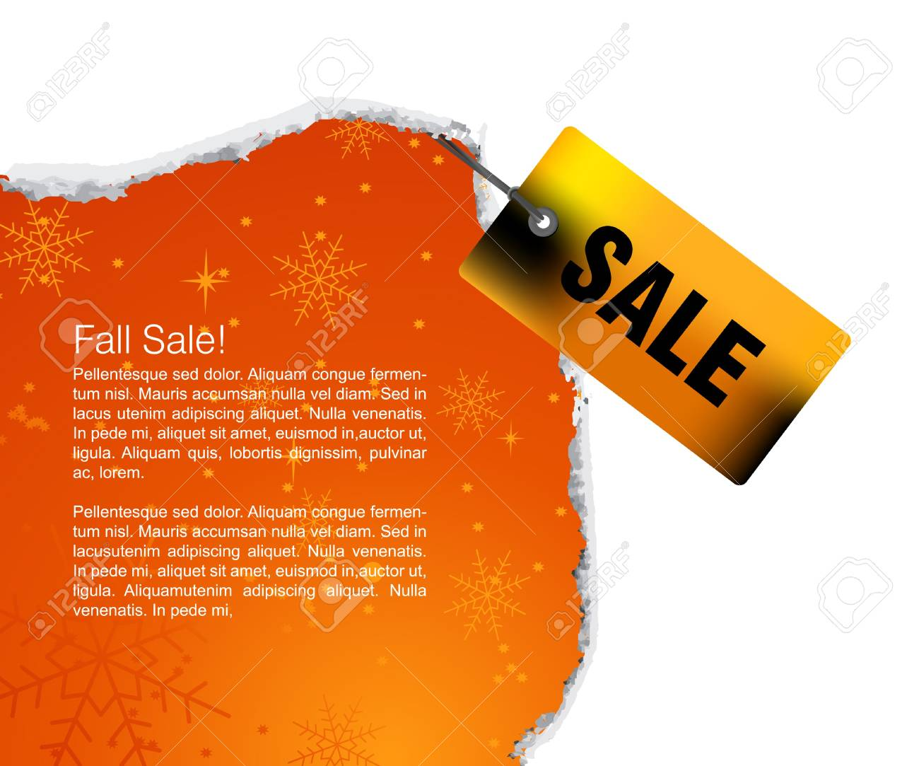 Sales and discount concept Illustration Stock Vector - 7866503