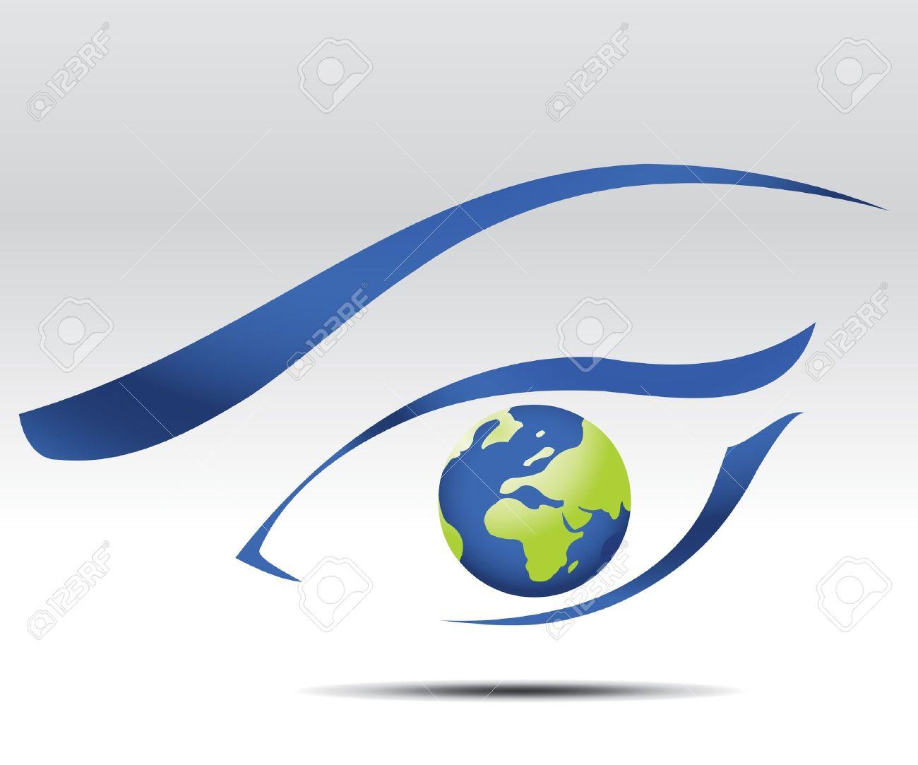 eye logo, future vision Stock Vector - 7866649