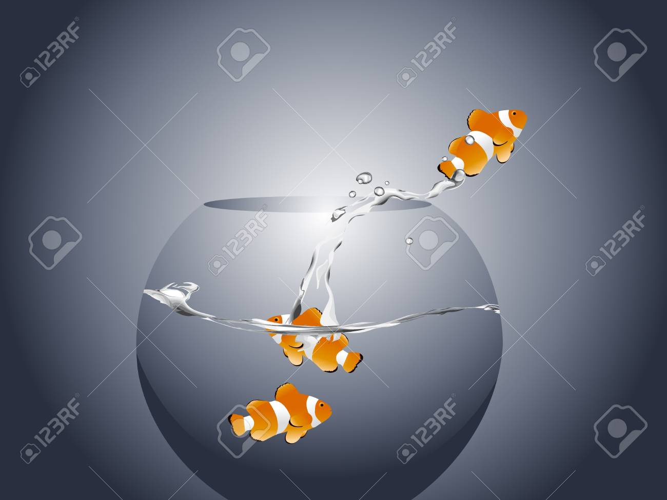 illustration of Golden fish Stock Illustration - 8307634