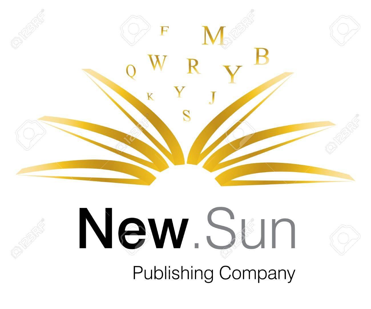 Logo Design for Publishing company. Stock Photo - 8307137