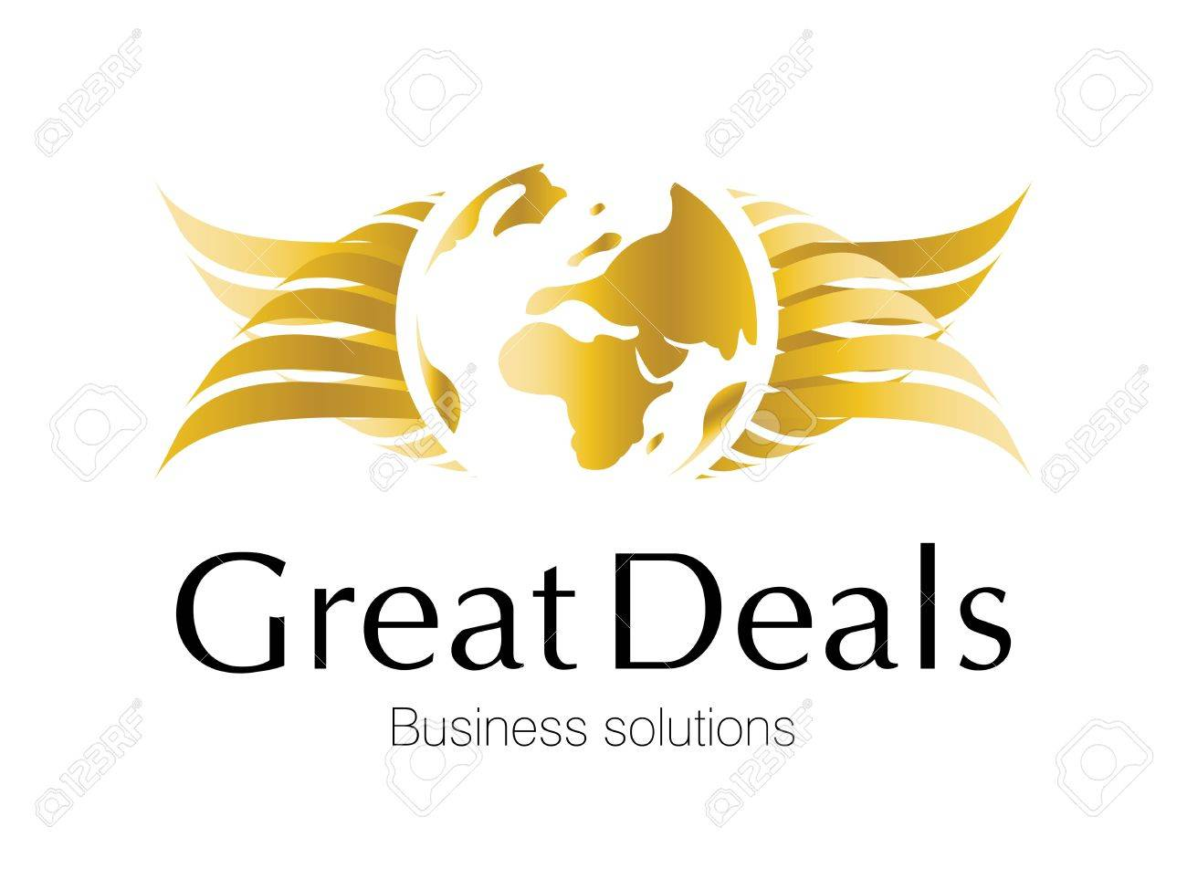 Logo Design for investment and financial projects. Stock Photo - 8307763