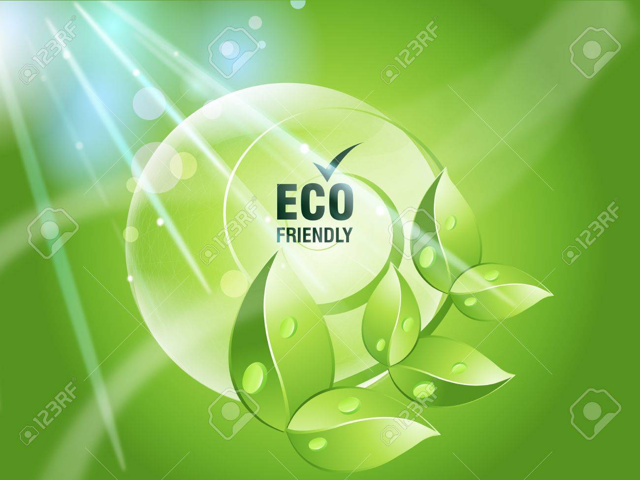 Environmental and Ecology concept  background . Stock Photo - 8298289