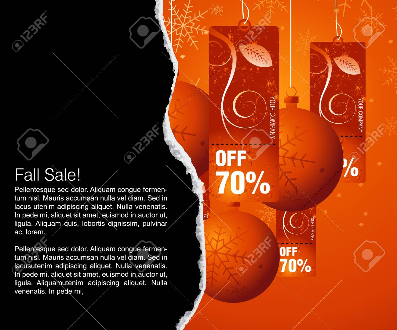 Sales and discount concept Illustration Stock Vector - 8300372