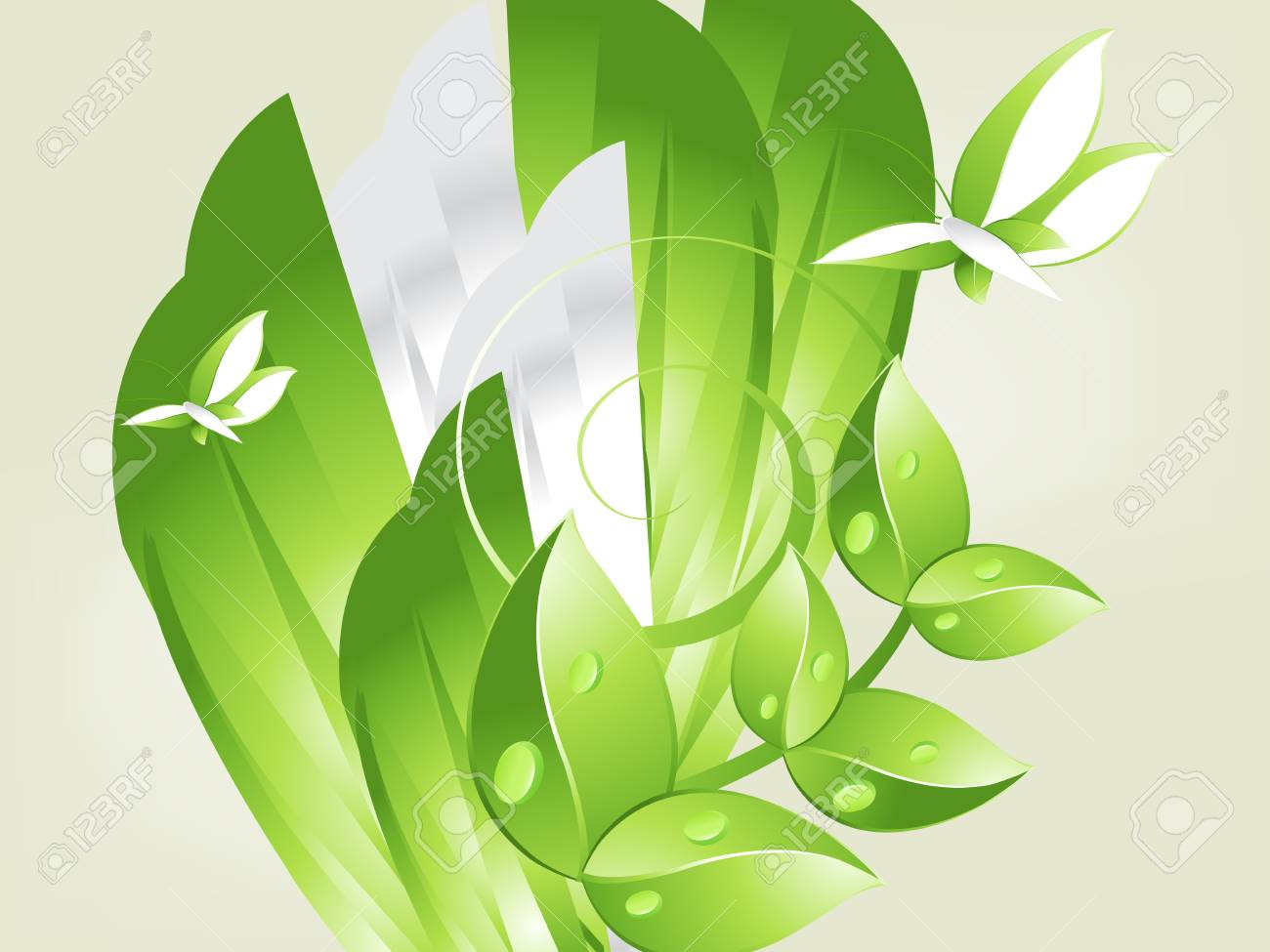 Environmental and Ecology concept  background . Stock Vector - 8301759