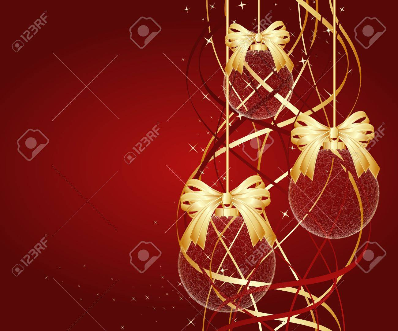 Background for new year and Christmas Stock Vector - 8297801