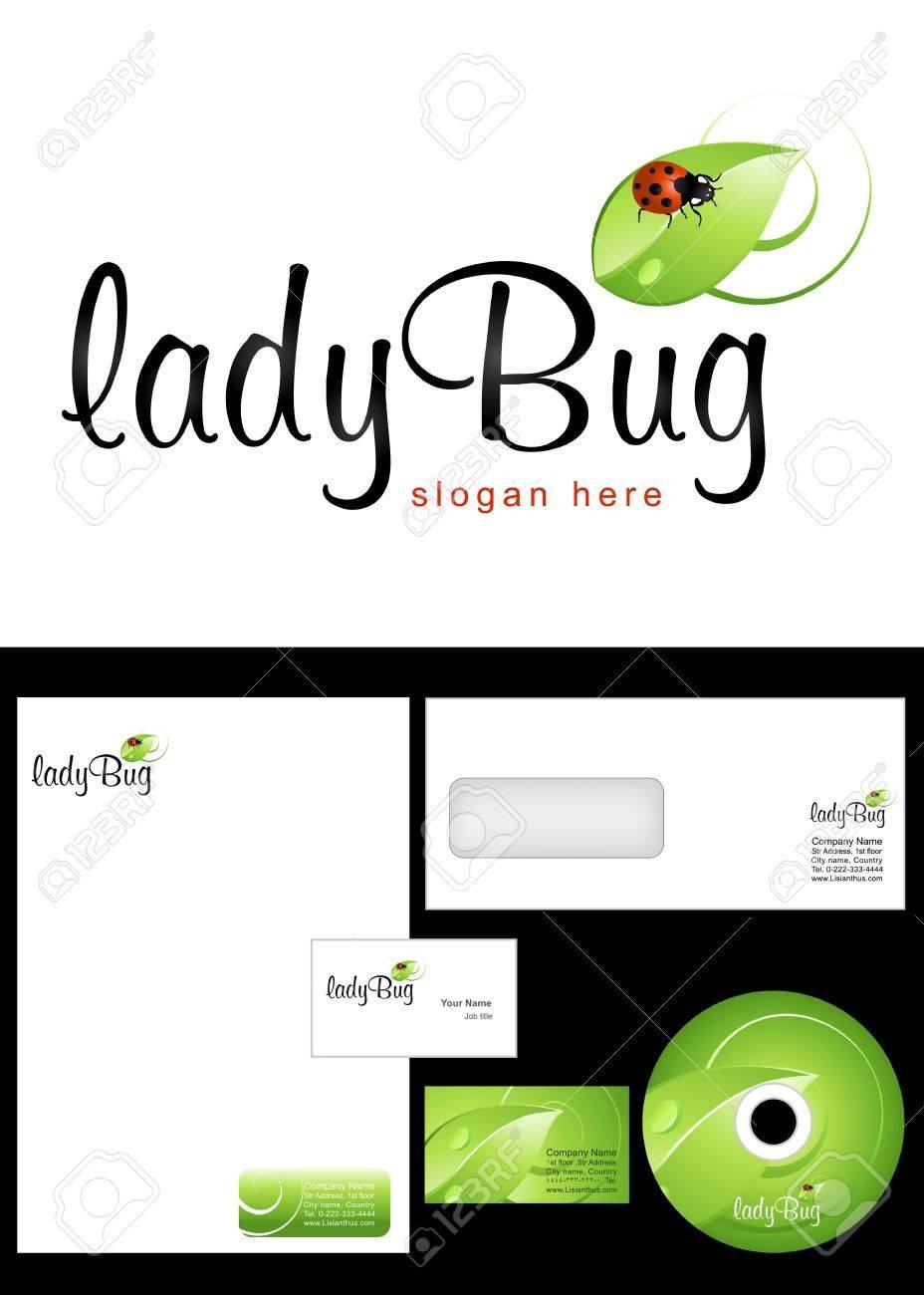 Ladybug Logo Design And Corporate Identity Package Including ...