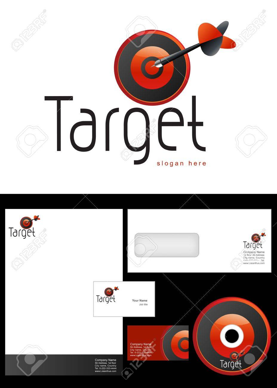 Target Logo Design And Corporate Identity Package Including Logo ...