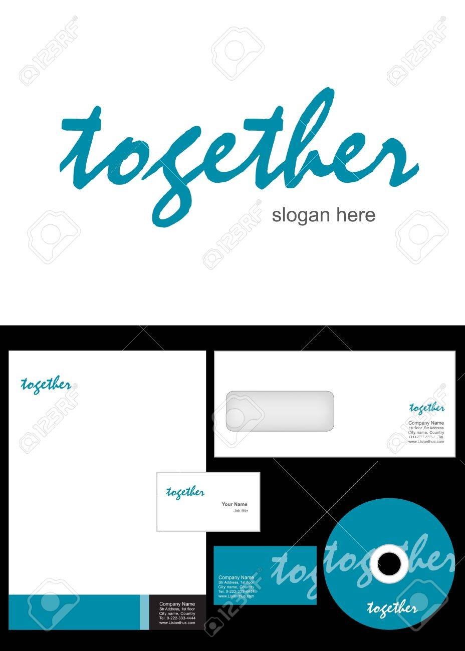 Together logo design and corporate identity package including together logo design and corporate identity package including logo letterhead business card envelope reheart Choice Image