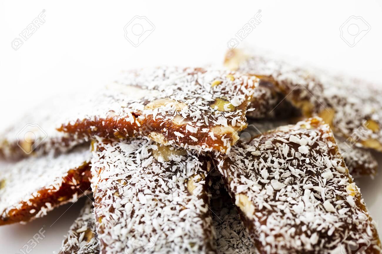 Traditional turkish dessert cezerye. - 152319523