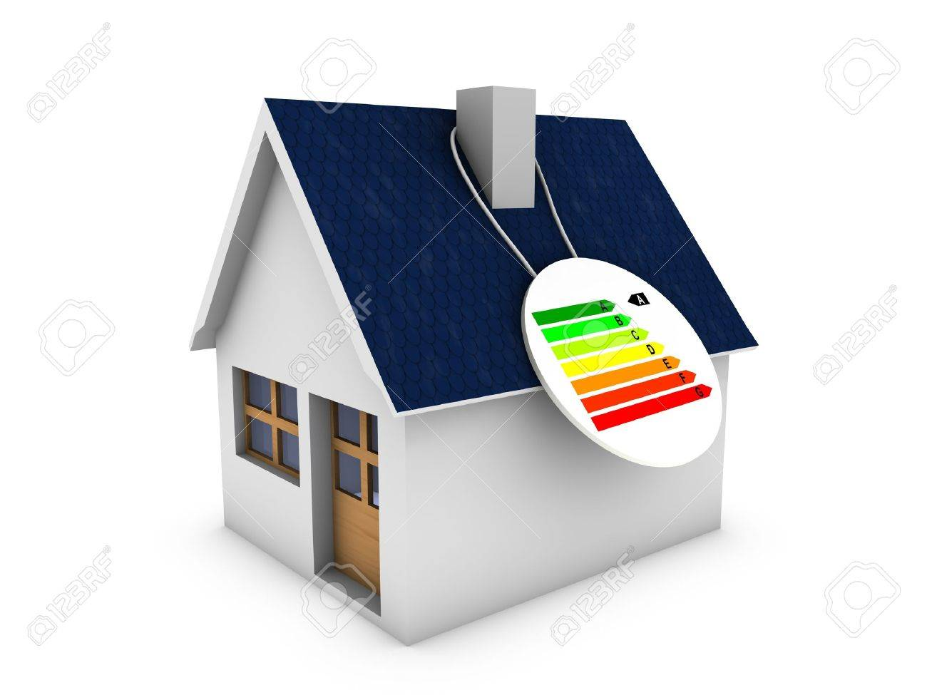 energy house Stock Photo - 13990067