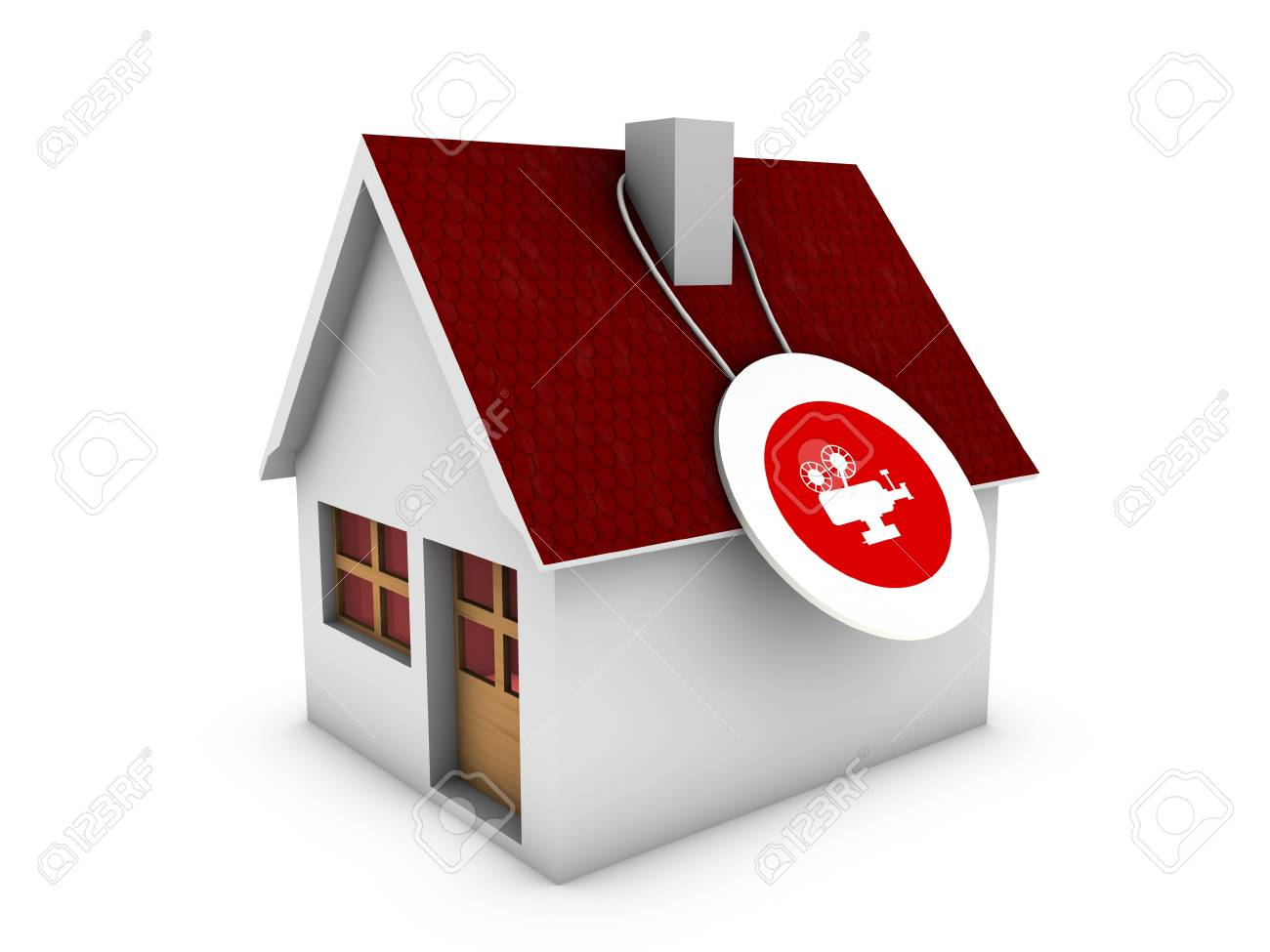 home for film Stock Photo - 13990061