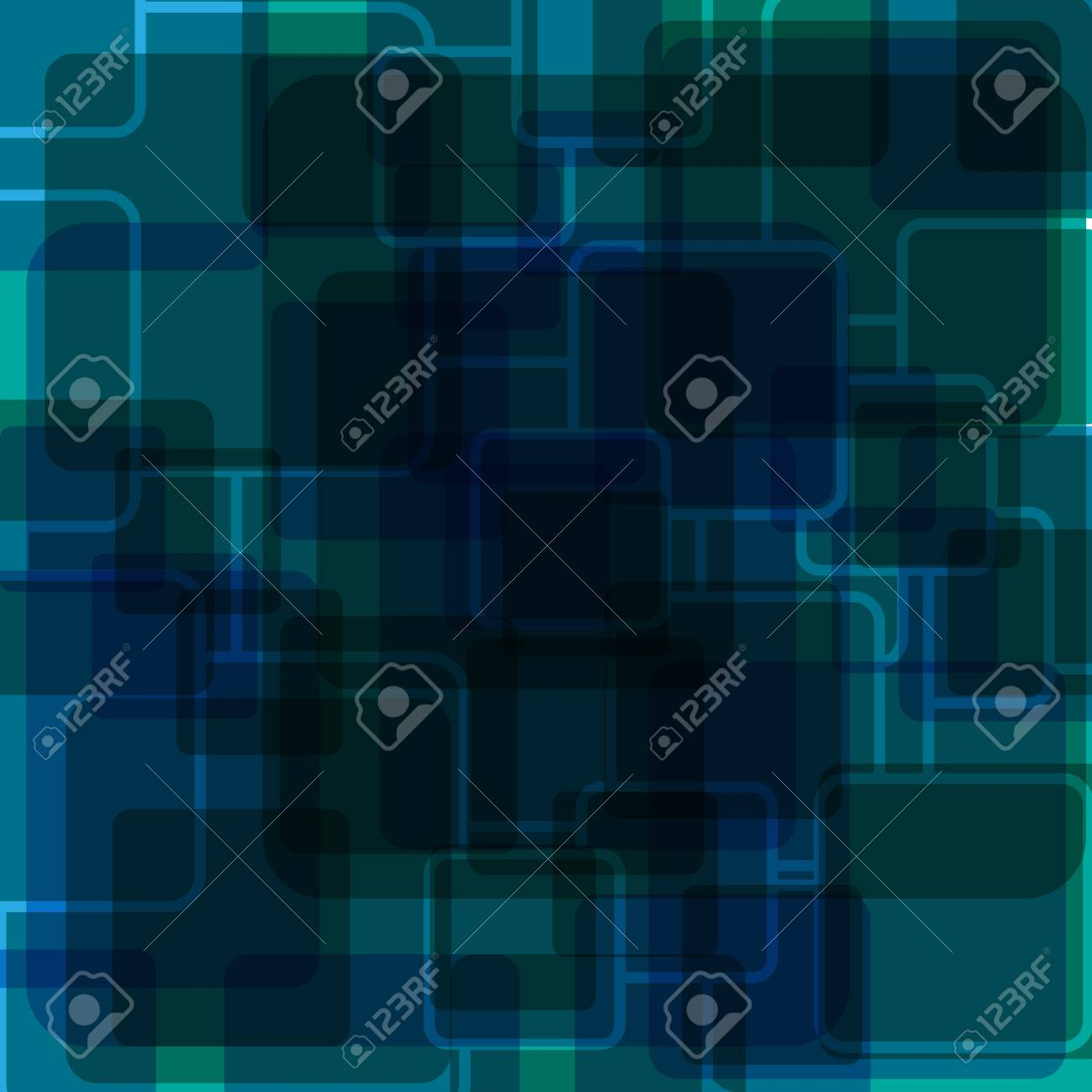 Abstract Blue Background Stock Vector - 17527312