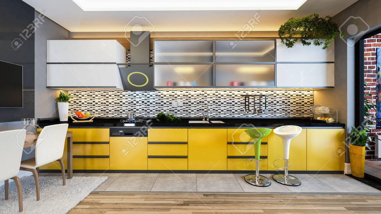 Gemütlich Küchendesign Mit Schwarz Geräte Ideen - Küche Set Ideen ...