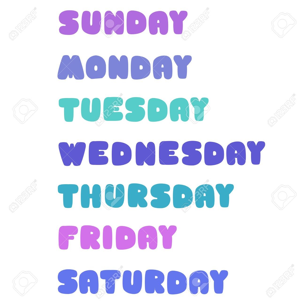 曜日: 日曜日、月曜日、火曜日、水曜日、木曜日、金曜日、土曜日の ...