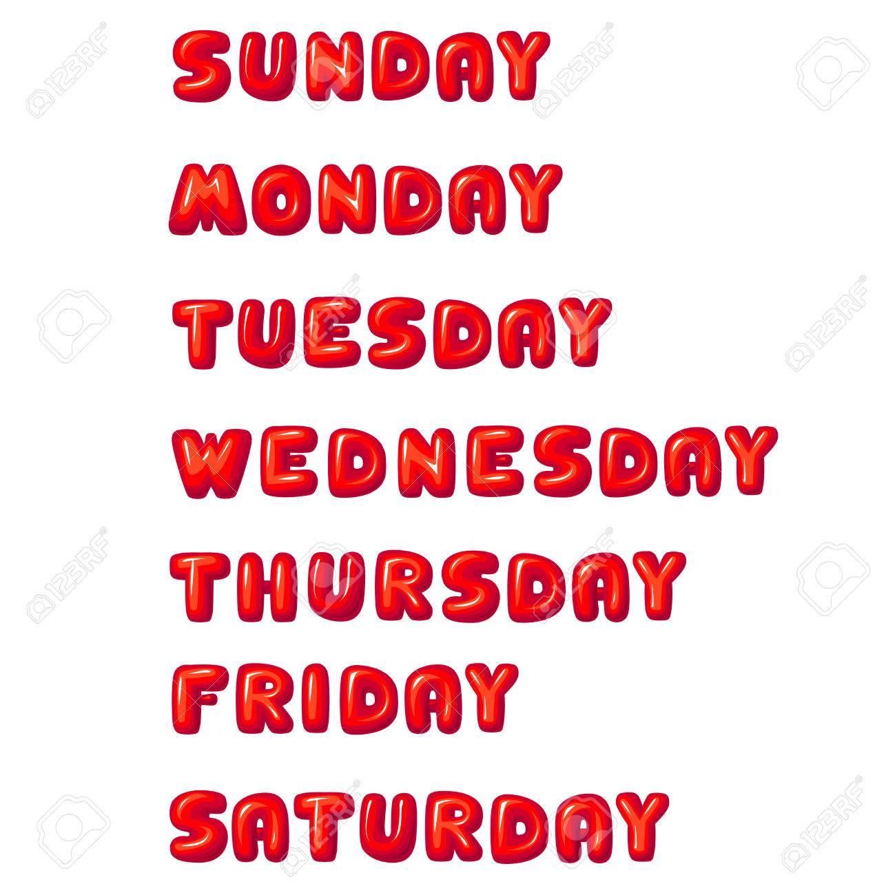 曜日 日曜日 月曜日 火曜日 水曜日 木曜日 金曜日 土曜日
